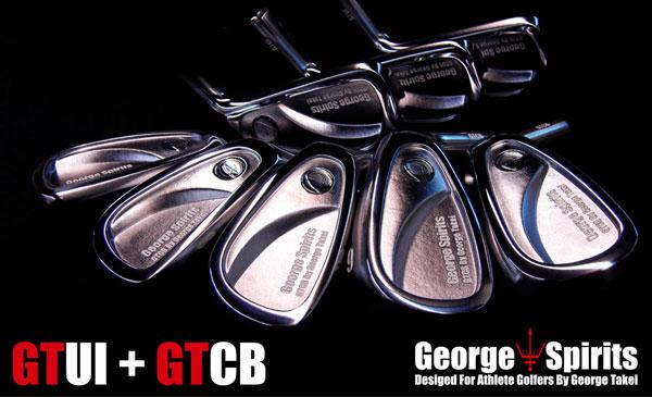 【高端铁杆】乔治精神铁杆GT-CB与混合铁杆GT-UI 小头职业款