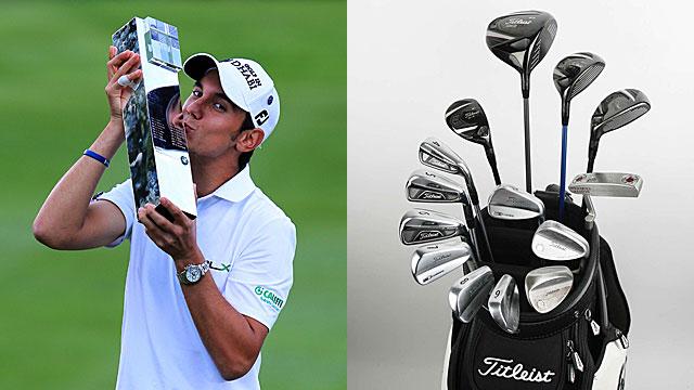 【冠军球具】Matteo Manassero在BMW PGA锦标赛上取得冠军