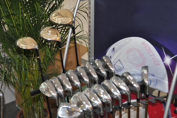 【图片秀】北京高尔夫展 武士刀Katana展位