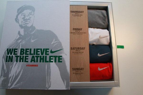 【明星球具】大师赛Nike提供的老虎伍兹和麦克罗伊的战袍!
