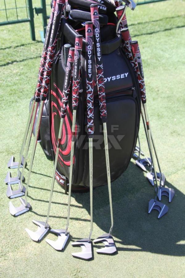 【推杆】Odyssey新推出的长推杆 手臂推杆 来应对推杆政策