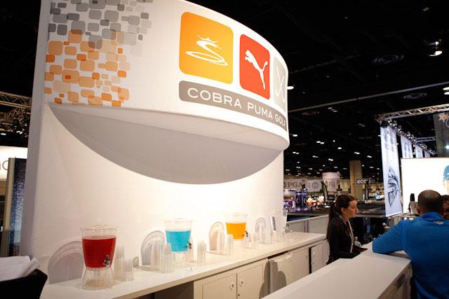 【球具新闻】2013年PGA球具展 Cobra Puma展位