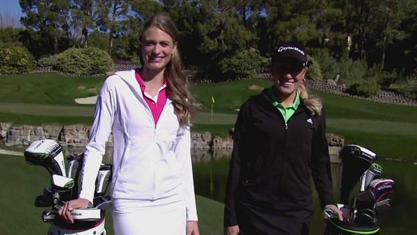 【视频秀】美女高尔夫!Natalie与Julie