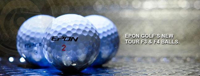 【高尔夫球】EPON的球Tour F3和F4,没错,不是杆,是高尔夫球