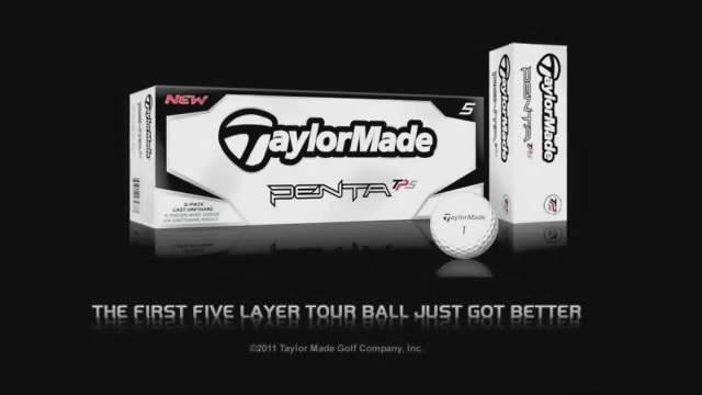 【视频秀】TaylorMade职业选手介绍Penta TP5 5层球