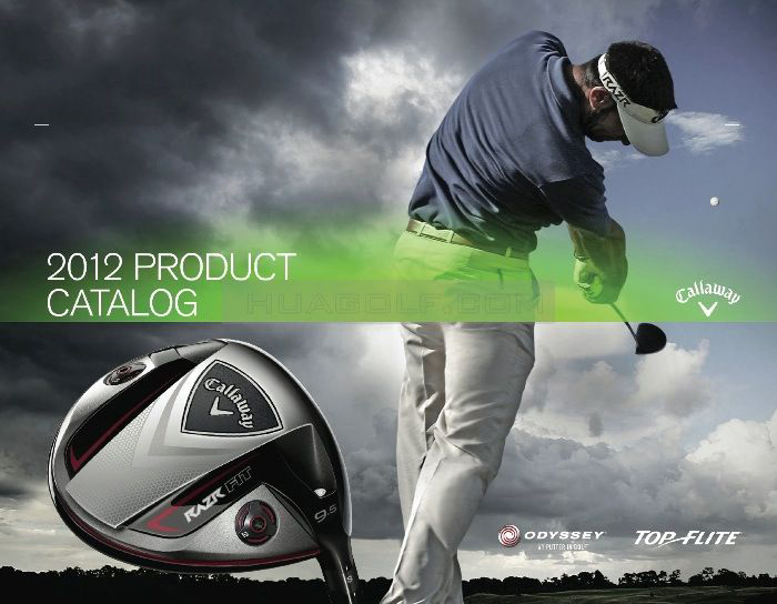 【球具前瞻】2012 Callaway / Odyssey 产品官方宣传图册
