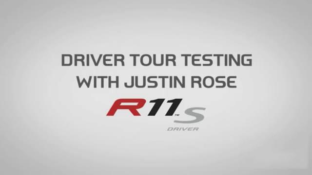 【视频秀】贾斯汀-罗斯 测试 Taylormade R11S 动态调整 Justin Rose