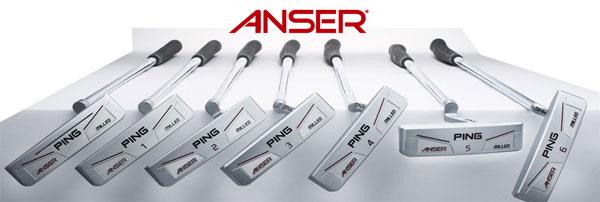 【球具评测】PING Anser 303软铁锻造推杆