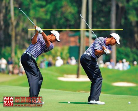 【高球教学】老虎是如何将球挤压出去的