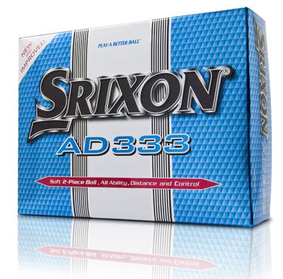 【周边】Srixon AD333 高尔夫球