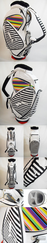 【图片秀】Puma新款白色高尔夫球包