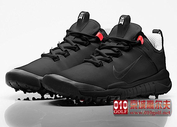 【周边】泰格伍兹签名款Nike Free球鞋