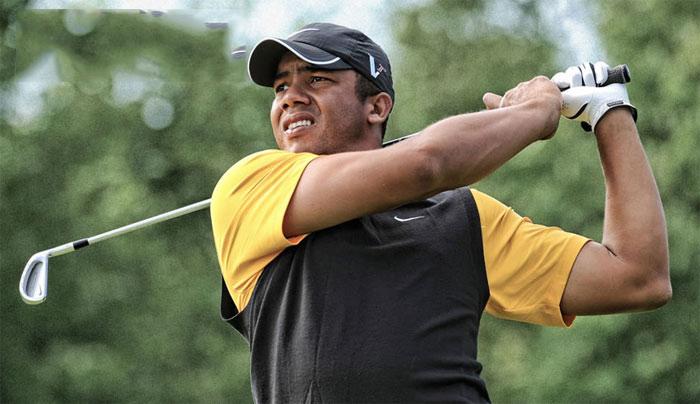 冠军球包:乔纳顿-维加斯Jhonattan Vegas赢得鲍勃霍普精英赛的球包