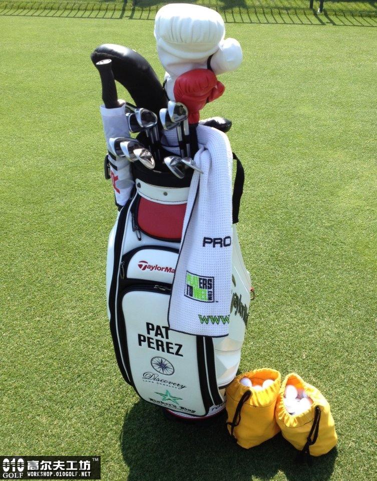帕特-佩雷兹(Pat Perez ),富国银行锦标赛球包