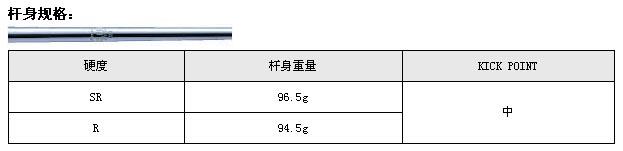 Mizuno MX-200铁杆(钢身)_高球工坊新品球具发布