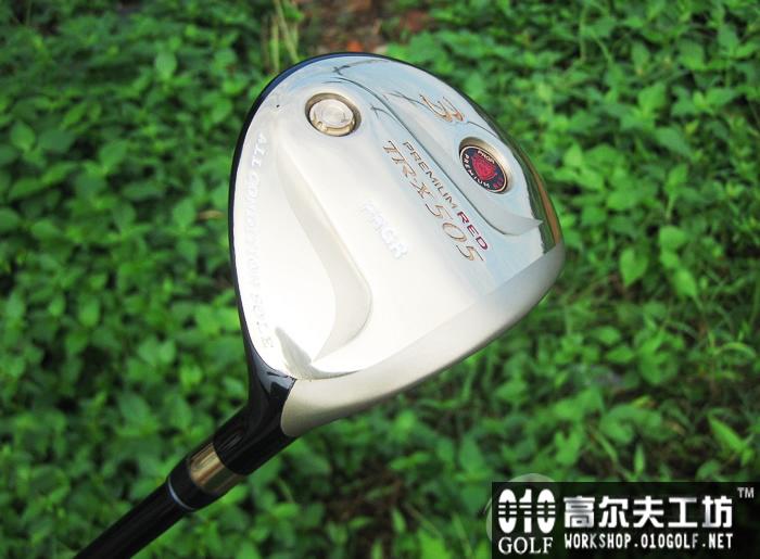 PRGR TR-X 505 新赤鬼球道木杆配VOODOO杆身 golf pride  ...