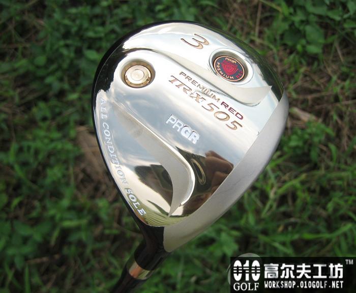 PRGR TR-X 505 新赤鬼球道木杆配VOODOO杆身 golf pride红 ...
