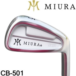 Miura CB-501铁杆量身订做Shimada(岛田) K'S-3001杆身Go ...