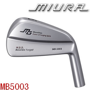 Miura MB-5003的2号铁装配岛田3001杆身 Golf pride VDR握 ...